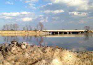 Lake Monona in Madison, Wisconsin, where rising salinity is due to nearby road salt application (Hilary Dugan/The Washington Post)