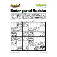 Endangered Species Sudoku
