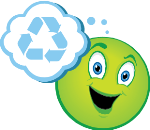 The Green Recycler emoji