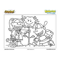 Plant-a-Tree Coloring Sheet
