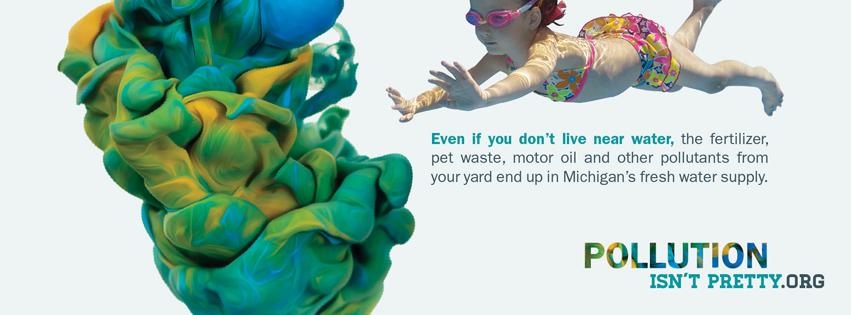 Pollution Isn't Pretty campaign image